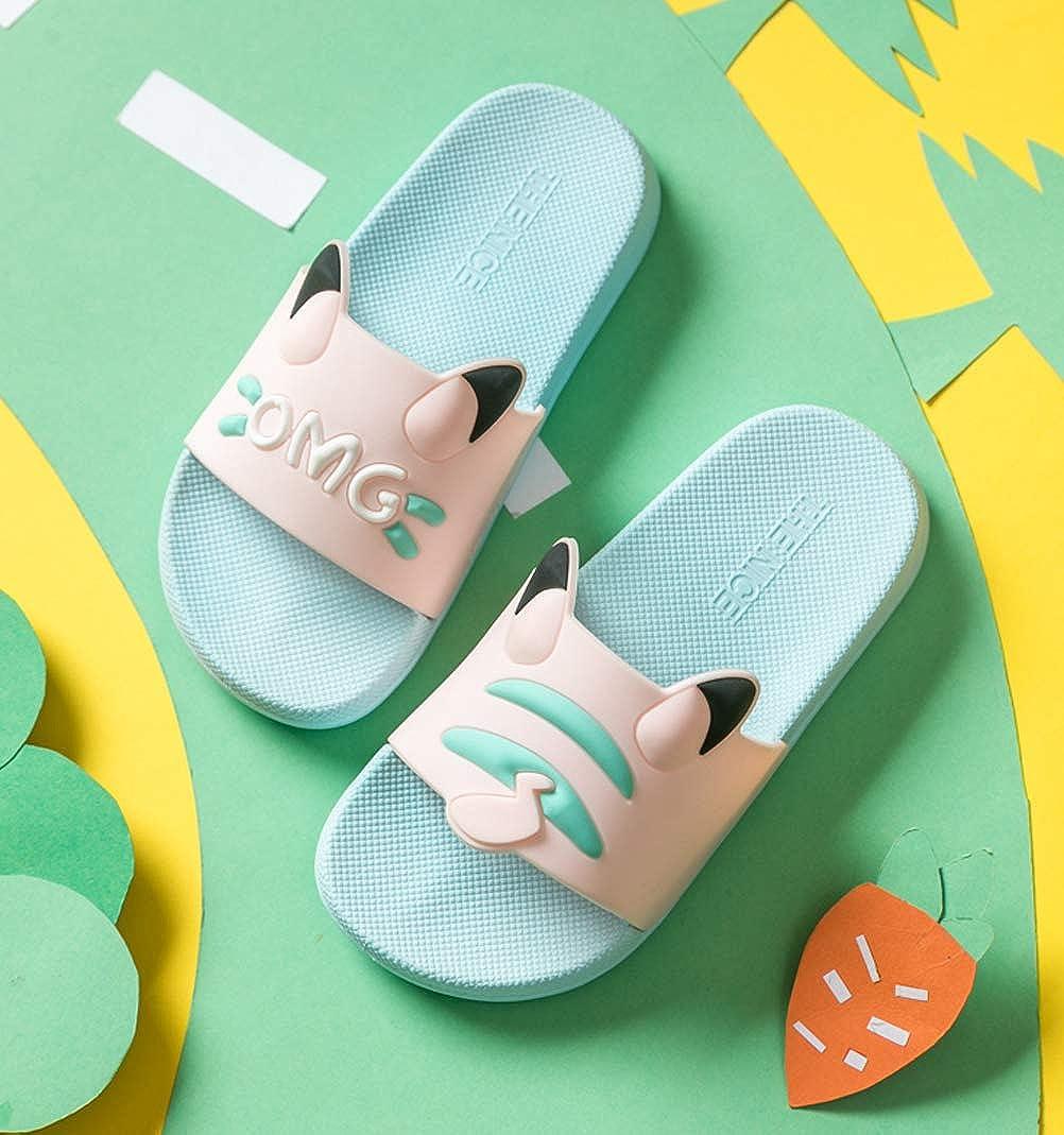 Garcon Filles Pantoufles de Bain Pantoufles Maison d/ét/é Piscine et Plage Doux Sandales de Pantoufles Antid/érapant pour Enfants