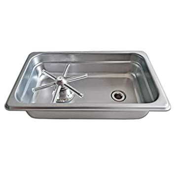Amazon.com: YBB - Lavabos de cristal para café, lavabo ...