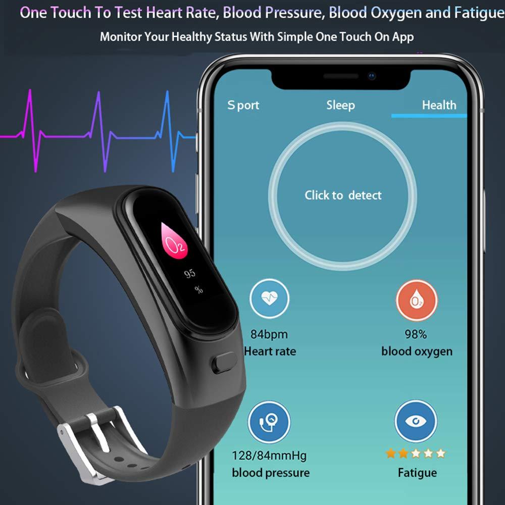 Amazon.com: ILYO 2 en 1 Smart Watch, Bluetooth Deportes ...