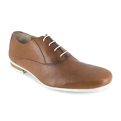 Richelieu J.Bradford Cuero Camel - Color - Marrón, Talla Zapatos - 46