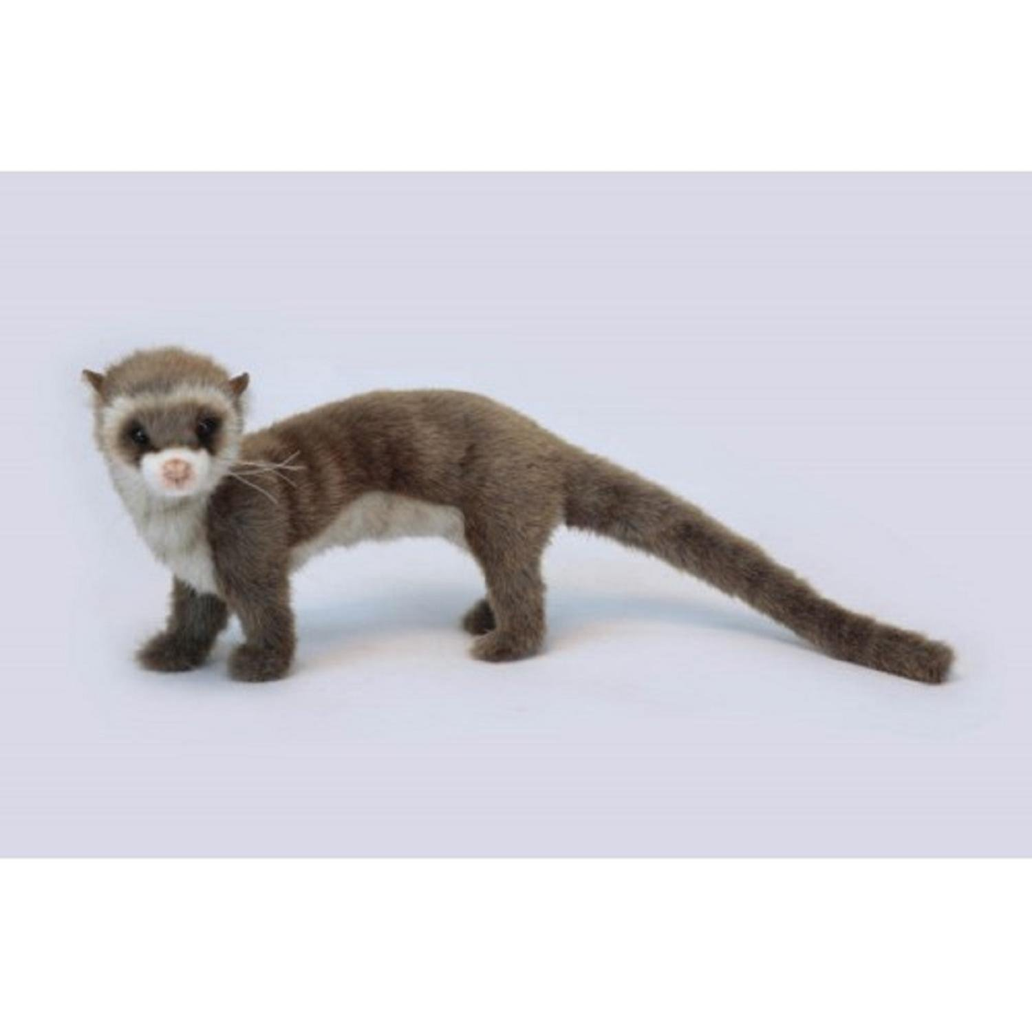Pack of 3 Life-like Handcrafted Extra Soft Plush Brown Ferret on All Four Feet Stuffed Animals 22.5''