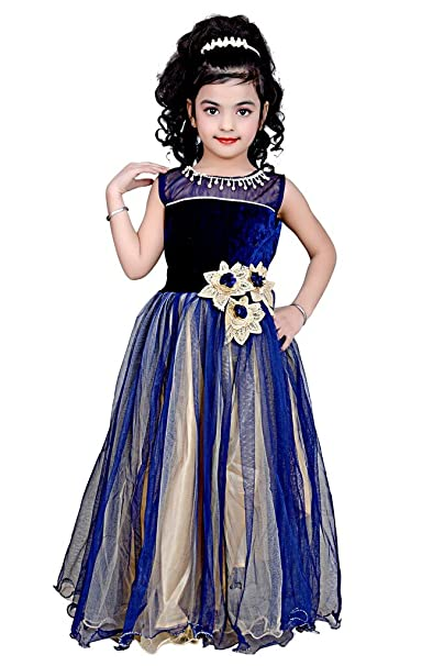 fa21a65cf05a Kids dresses baby clothing stylish party wear gown for women party ...