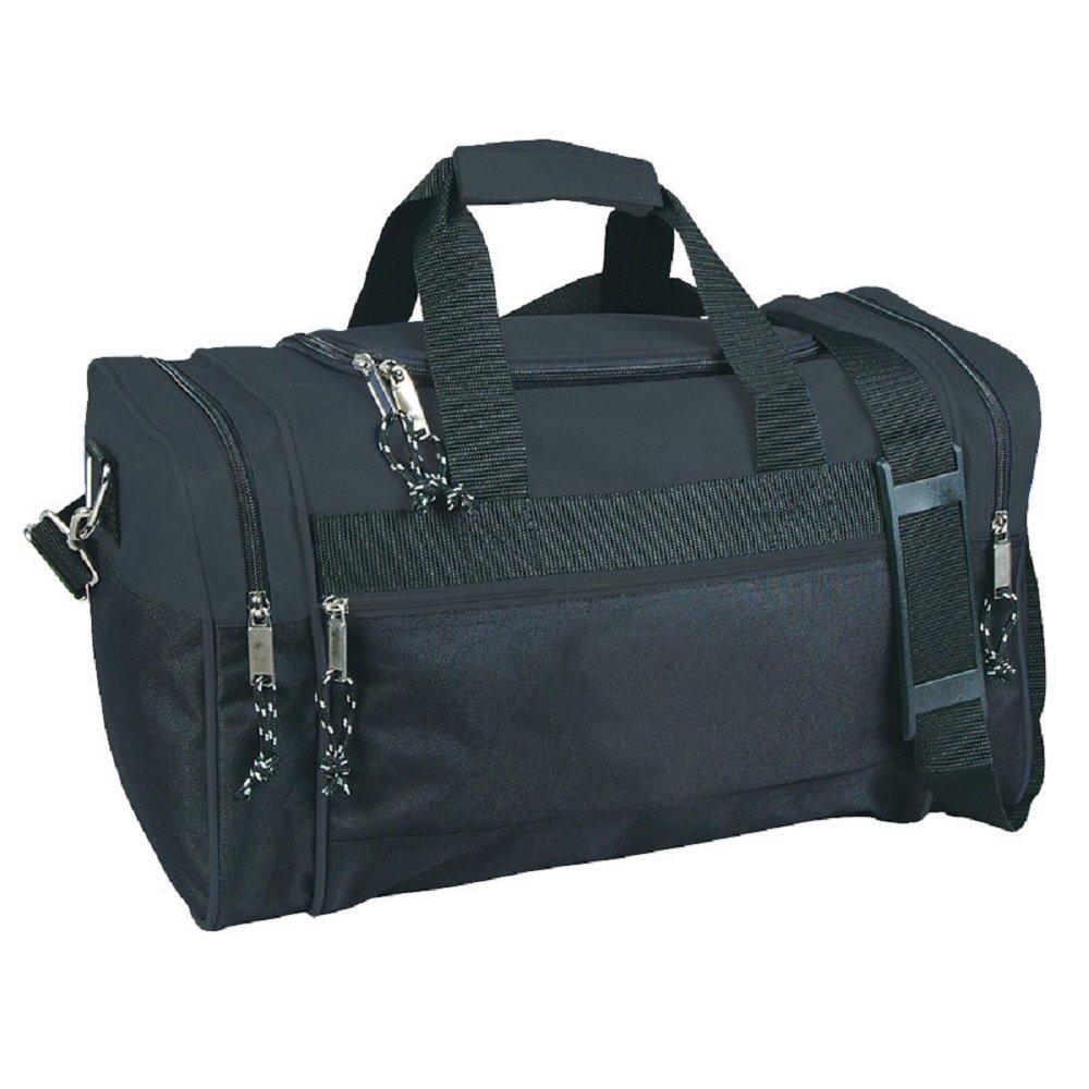 Compact Sport Gym Duffle Bags (Black/Black)