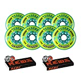 Revision Wheels Inline Roller Hockey Recoil 76/80mm 78A Hilo + Bones Bearings