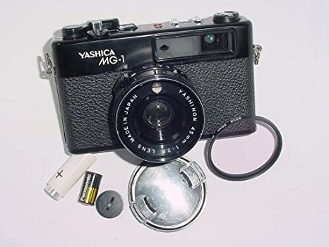 Yashica Objetivo Fijo de MG-1 35 mm telémetro w/yashinon 45 mm 1 ...
