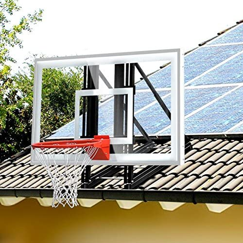katop garage roof mount outdoor basketball hoop
