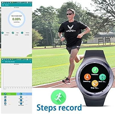 SinoPro Y1 Reloj Inteligente, Deportes Rastreador de ...