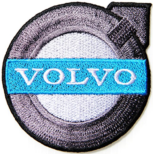 VOLVO RACING Logo Patch Sew Iron on Applique Embroidered T shirt Jacket Sign Badge Emblem Costume