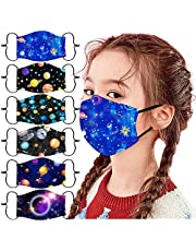 6 Pack Cotton Unisex Face Reusable Washable for Cycling Camping Travel for Kids Teens Men Women