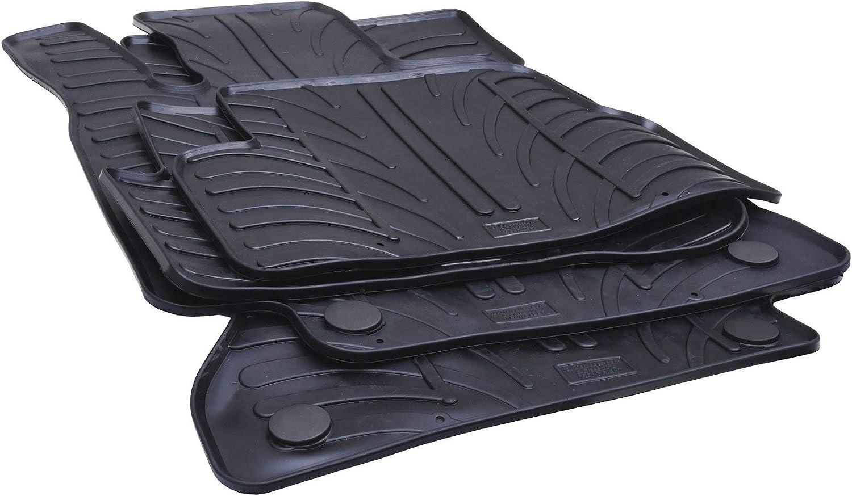 Just Carpets Tapis de Sol Voiture sur Mesure pour Votre Sandero Ann/ée de Fabrication: 12//2016-2020 4 Pieces Qualit/é: Caoutchouc Version: Stepway