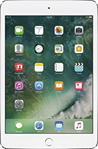 Apple iPad Mini 4, 32GB, Silver - WiFi (Renewed)
