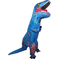 Wild Cheers Inflatable Dinosaur Costume Adult, 2.2m high, Strong Shape, Super Domineering, Inflatable T-Rex Costume…