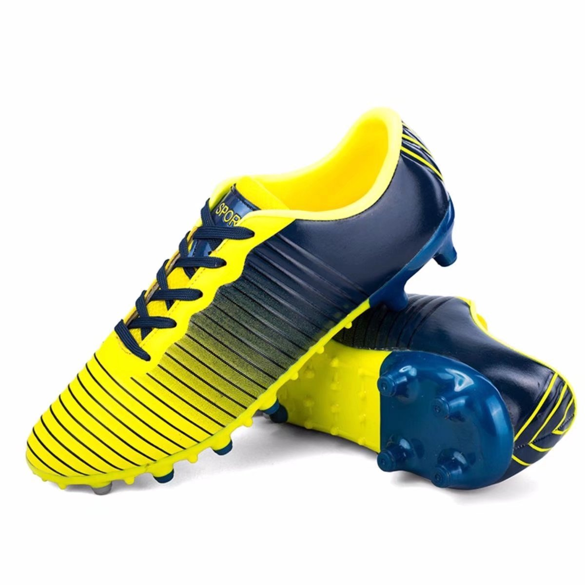 Shoes CN メンズ B07CBZ3182 8 D(M) US|Blue-yellow Blue-yellow 8 D(M) US