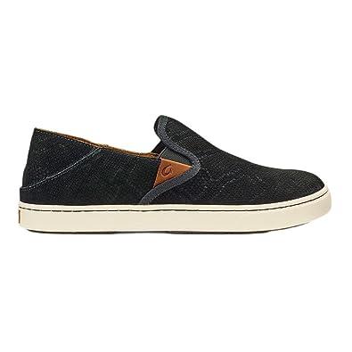 OluKai Pehuea Leather Slip On (Women's) aSM7rz0wH