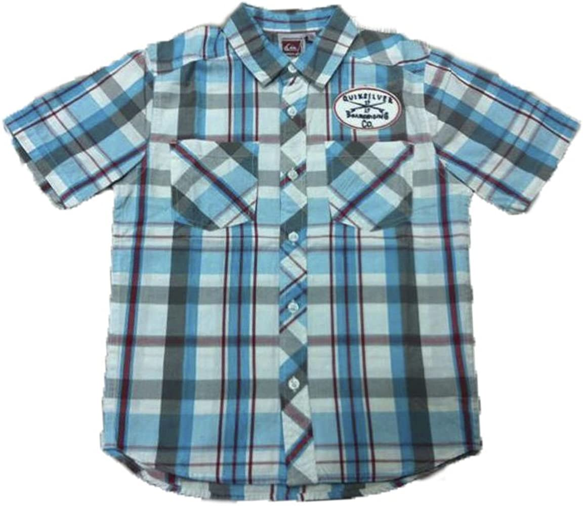 Quiksilver - Camisa de Manga Corta Blackies, Chico, Color: Multicolor (10): Amazon.es: Ropa y accesorios