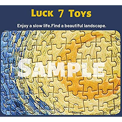 Luck7 Toys - Jigsaw Puzzles for Adults 1000 Piece - Ring King Shire New Zealand 1 - Kids Puzzles Toys Educational Puzzles Jigsaw: Toys & Games