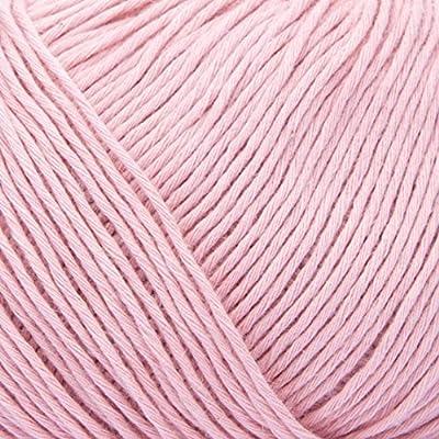 ggh Cottina - 032 - Rosa viejo - Algodón para tejer y hacer ganchillo: Amazon.es: Hogar