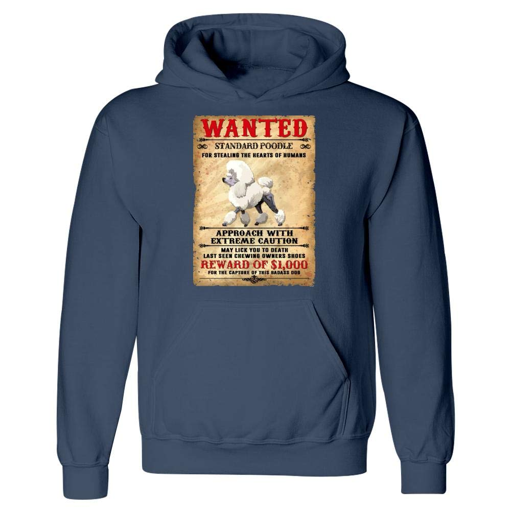 Hoodie Funny Standard Poodle Dog Lovers pop Art Gifts