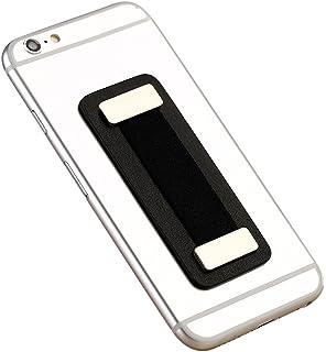 Cerbery® | Porta-dedos para smartphone hecho de cuero | Soporte sostenedor dedo coche