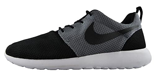 81f6f66a9d1f Nike Roshe One Mens Black Cool Grey Rosherun Running Shoes - UK 8  Buy  Online at Low Prices in India - Amazon.in