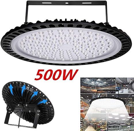 500W 300W 200W 100W 50W UFO LED High Low Bay Light Factory Warehouse Lighting