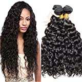 VIPbeauty 100% Unprocessed Malaysian Virgin Human Hair Extension 3 Bundles Remy Human Hair Weaves Malaysian Hair Bundles Water Wave(20 22 24) Review