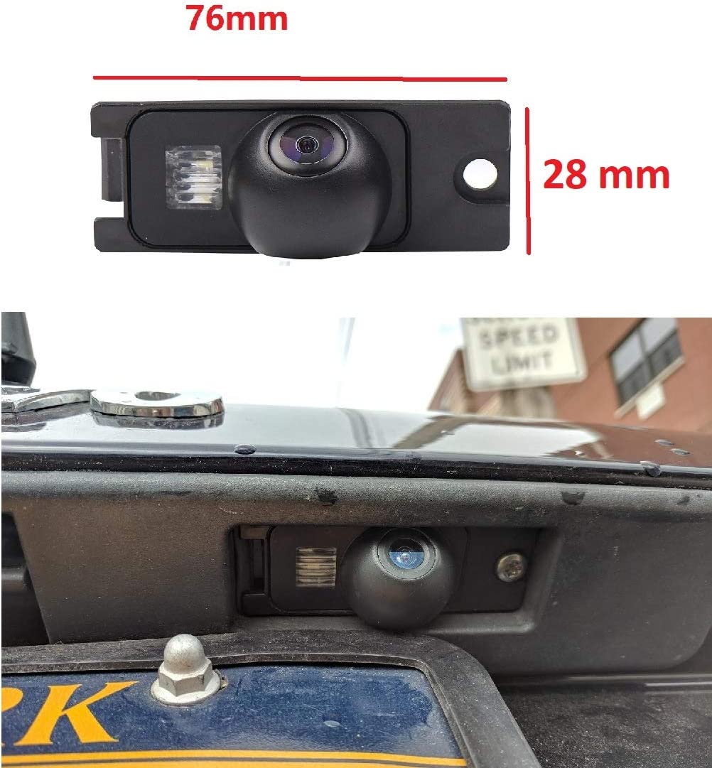 Night Version Backup Camera Waterproof Rear-View License Plate Rear Reverse Parking Camera for Volvo SL40 SL80 XC60 XC90 S40 S80 C70 V40 V50 v60 S60L C30 S40//XC70 Model B= 2X Screw Style