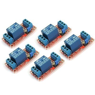 daorier de 1CH 1canales de relé Relay Módulo DC IN 5V con Opto de aislado de alta y baja de Trigger Module 1pieza