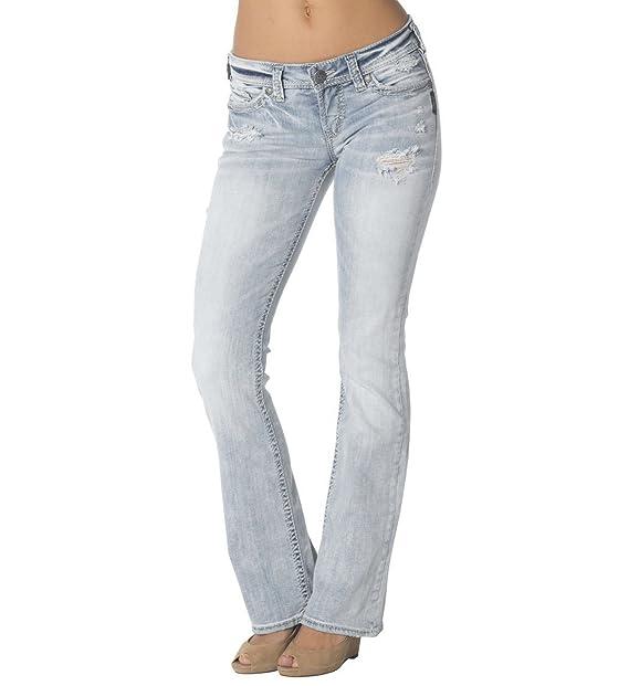 Amazon.com: Silver Jeans Co. Luz de la mujer Jeans Wash ...