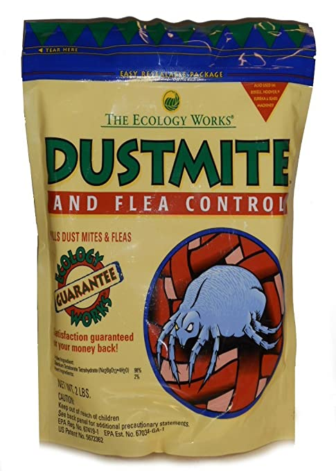 Amazon.com: The Ecology Works - Dust Mite and Flea Control 2 lbs: Pet Supplies