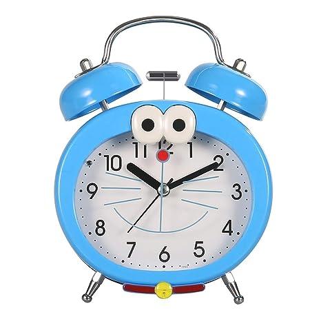 Cunxia Réveil Alarme Horloge Cartoon Pour Enfant Silencieuse
