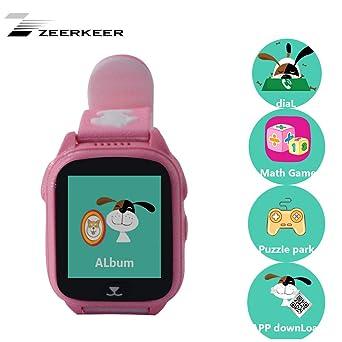 zeerkeer 9 Juegos Kids Phone Smartwatch Niños, antipérdida ...