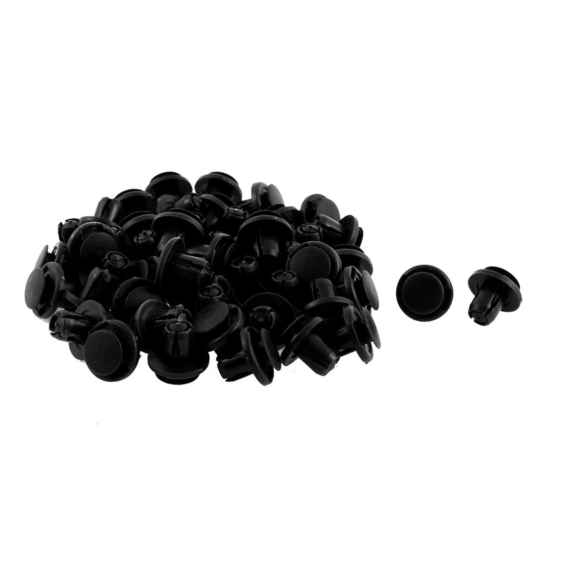 50 Pack Uxcell a15121100ux0039 Clips//Rivets//Fastener