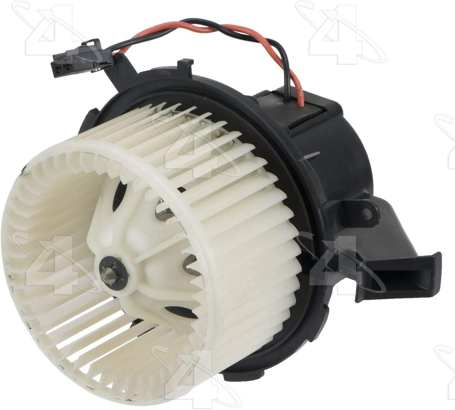 Four Seasons Flanged Vented CCW Blower Motor w// Wheel 76991