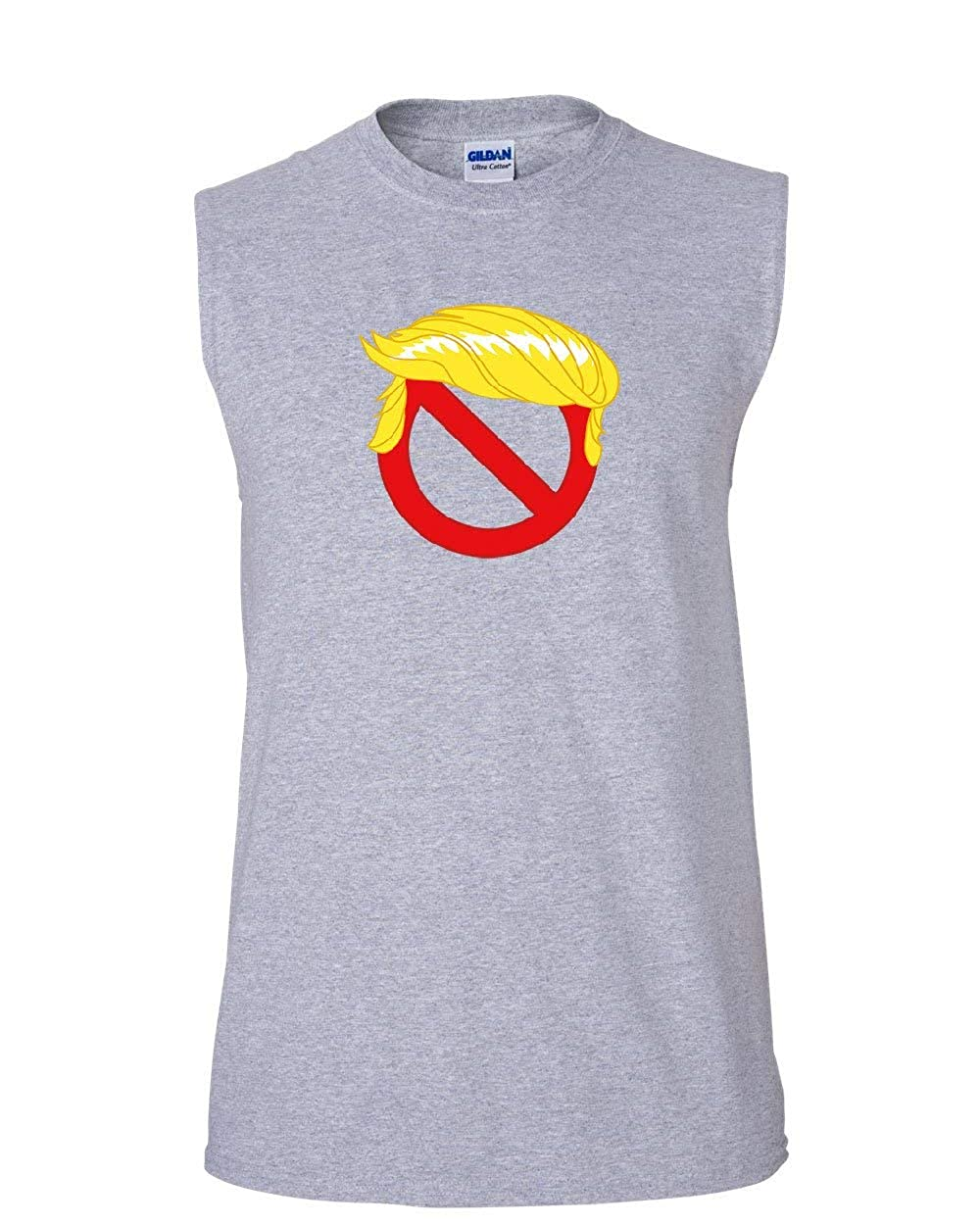 No Trump Muscle Shirt Anti Trump Resist Impeachment Resign Dump Stop Sleeveless