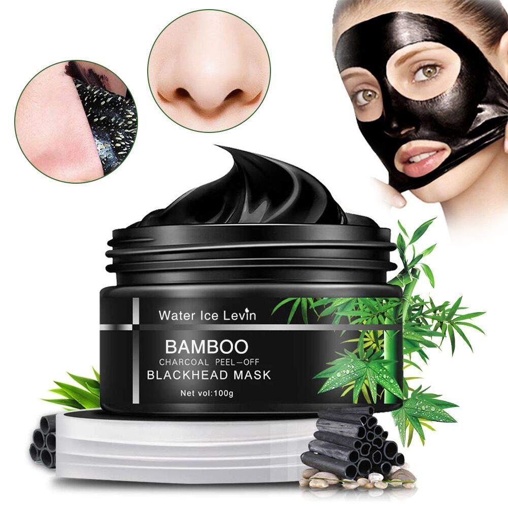 Carbón De Bambú Máscara Negra