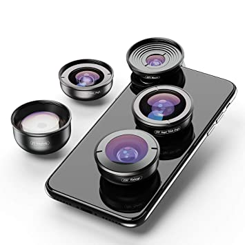 Amazon com: Apexel Professional Mobile Photography Lens Kit for
