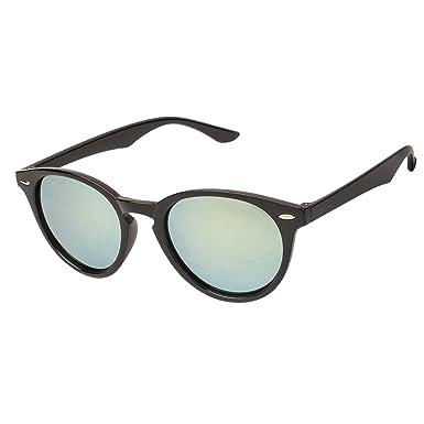04b7b8f0ca Arzonai Target Oval Shape Black-Orange Mirrored UV Protection Sunglasses  For Men   Women  MA-303-S4    Amazon.in  Clothing   Accessories