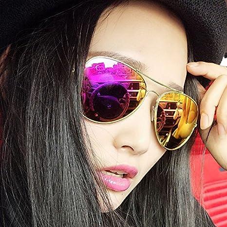 Die Sonnenbrille sunyan Sterne, männlichen und weiblichen Linse Brille reflektierende coole Farbe Paare Sonnenbrillen Sonnenbrillen, schwarz Quecksilber.