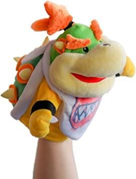 Super Mario Hashtag Collectibles Bowser Puppet