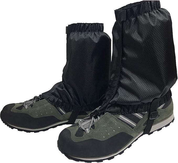 Kenyaw Polainas para Exteriores Polainas Impermeables Polainas De Nieve para Adultos Ligeras Polainas Calzado para Caminar Escalada Caminar Caminar Hombres Mujeres Verde Militar