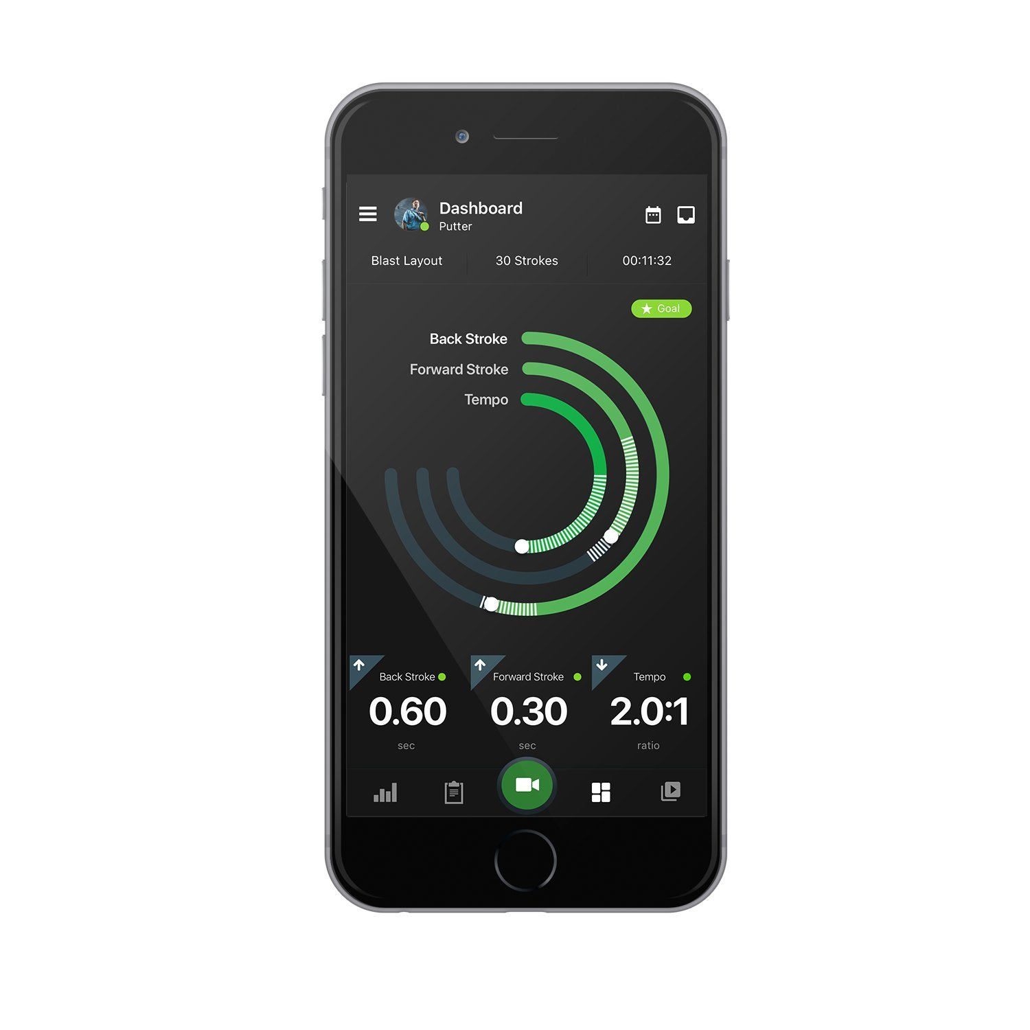 Blast Golf Swing and Stroke Analyzer, Designed by Golf Professionals | November 2017 Software Update by Blast Motion (Image #4)