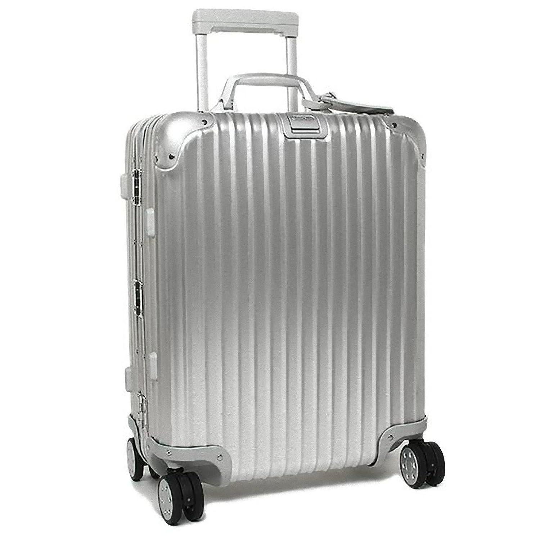 (リモワ) RIMOWA リモワ スーツケース RIMOWA 923.56.00.4 TOPAS トパーズ 56CM 45L 1~3泊用 4輪 TSAロック付 キャリーケース SILVER [並行輸入品] B01DVHODCY