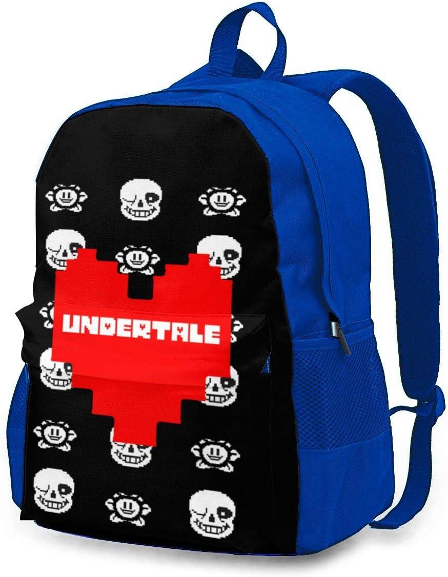 Undertale Backpack, Durable Shoulder Bag School Bag Laptop Bag Daypack for Travel Hiking
