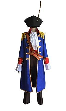 Amazon.com: vicwin-one Anime Ciel piratas Halloween Traje ...
