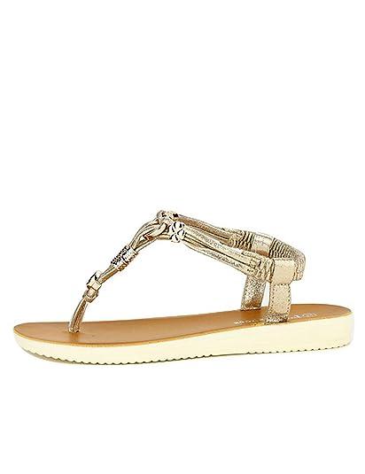 e4710b51cabb Cendriyon, Tongs Dorées LUX Shoes Chaussures Femme Taille 41: Amazon.fr:  Chaussures et Sacs