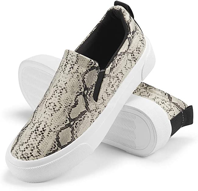 Womens Slip On Sneakers Perforated