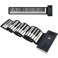 Folding Portable Keyboard Piano Roll up | 61Keys | Music Gifts for Women Men Girl Boys Kids | Educational Toys Gift Set…