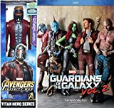 Star-Lord Movie Figure Guardians of the Galaxy Vol. 2 Super Hero Marvel Bundle DVD Cinematic Universe Titan Adventure Collectible