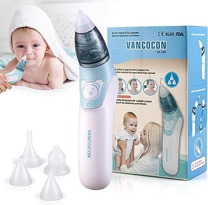 Electric Baby Nez Cleaner nasal Aspirateur Morve Cire D/'Oreille Nettoyage Dispositif d/'aspiration